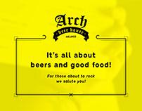 Arch Beer House | Food Menu