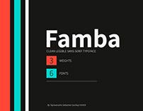 Famba Typeface
