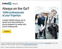 HTML emails: LinkedIn
