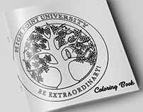 High Point University Coloring Book