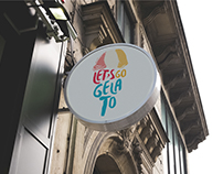 Let's Go Gelato | Branding