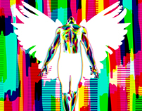 Rainbow Angel