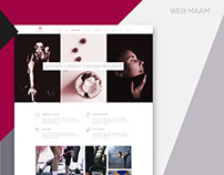 MAAM. Diseño web.