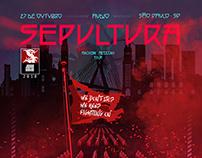 Pôster - Sepultura (Machine Messiah World Tour)