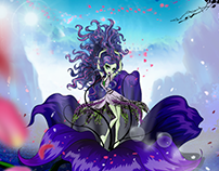 Monster High illustrations and character illustrations