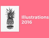 2016 | Illustrations melting pot