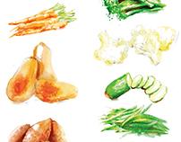 Advertising Illustration For Waitrose Supermarkets
