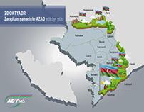 Azerbaijan Railways - Isometric map content creation