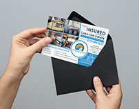 Business Marketing Postcard Design