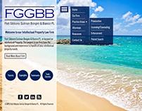 FGGBB Law Firm UI Design