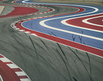 Circuit of the Americas at Dusk