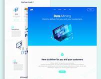 Data Mining Website UI