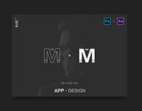 About Fashion Men App Design