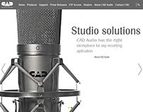 CAD Audio Web Concept
