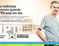 Campanha IPTU Prefeitura de Sorocaba