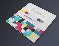 Création identité event - Print/Motion