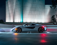 Night Shoot - McLaren 570S Spider
