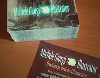 Business Card Design : Michele Giorgi illustrator