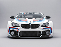 BMW M6 GT3 Studio Shoots