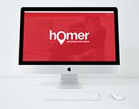 Aplicativo Homer - Parcerias Imobiliárias