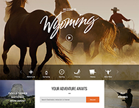 Web Design – Wyoming Tourism