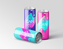Energy / Soda Drink Can Packaging Mock-Ups Vol.1