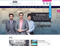 Property Brothers Homepage Design