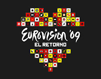 Eurovision 2009 TVE. Graphic Identity