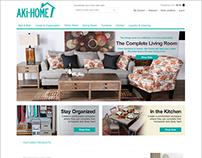 Aki-Home Website