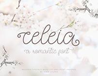 Celeia - A romantic font