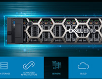 Dell EMC homepage
