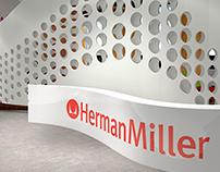 NeoCon Herman Miller showroom design proposal