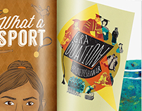 Editorial Illustrations - Unmagazine by Campus Diaries