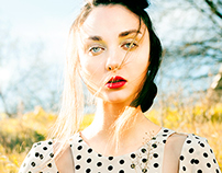 Edit Fashion Model - Spring Breeze