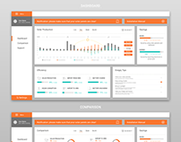 Website dashbord + mobile dasboard