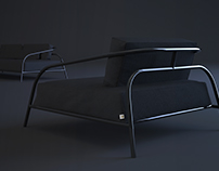 Lounge sofa by SVOYA studio