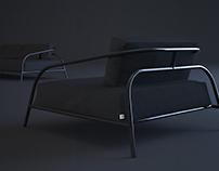 Lounge sofa by SVOYA studio