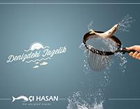 Balıkçı Hasan Print Ad