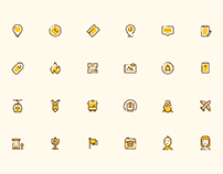 24 Free Social Icon Set Sketch Resource