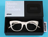 Ottavo, a reading glasses brand for the design lover