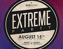 Vinyl Party Poster