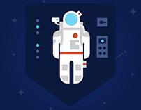 Kandoolu Space Badges