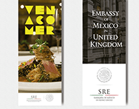 Designs for The Embassy of Mexico in the United Kingdom