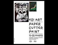Koi Art — Paper Cutter Paint