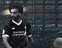 Mohamed Salah / Tribute Poster