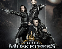 The Three Musketeers key art