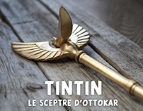 Tintin – Making of the 'Sceptre d'Ottokar'