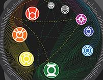 Green Lantern Infographic