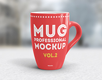 Coffee Mug Mockup vol.2