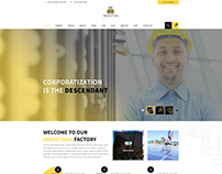 Industrial - Industry & Business HTML Template
